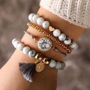 Bracelets Set with Jewelry Box